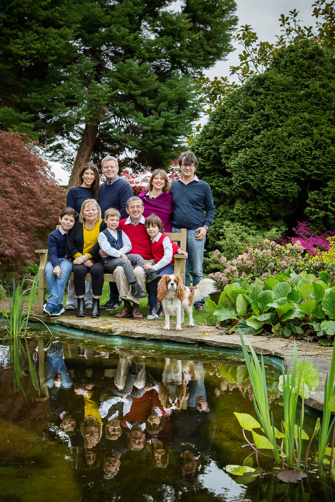 Family photo shoot in Sussex Garde