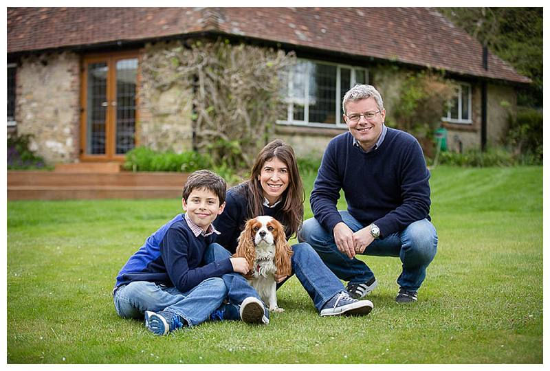 Family photo shoot in Sussex Garden