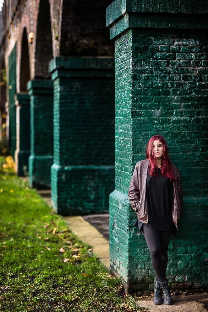 london portrait photography outdoor portrait photoshoot