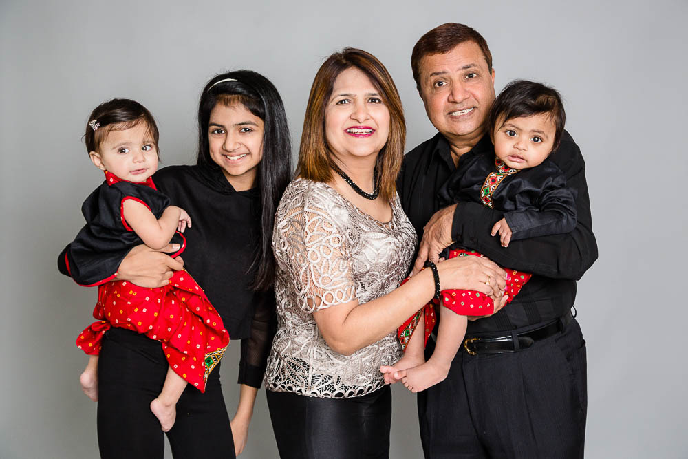 Portrait Photographer London Family Studio Portrait