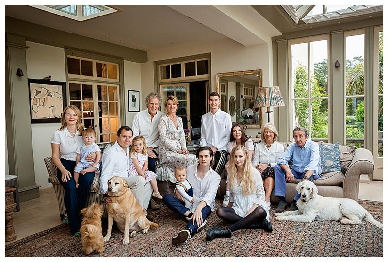 Portrait Photography London - Family Location photoshoot