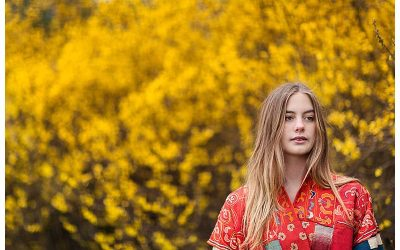 Teenage Spring Portrait Shoot | Kensington Gardens