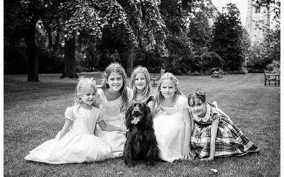 Flower Girls Photoshoot – Warwick Square Gardens