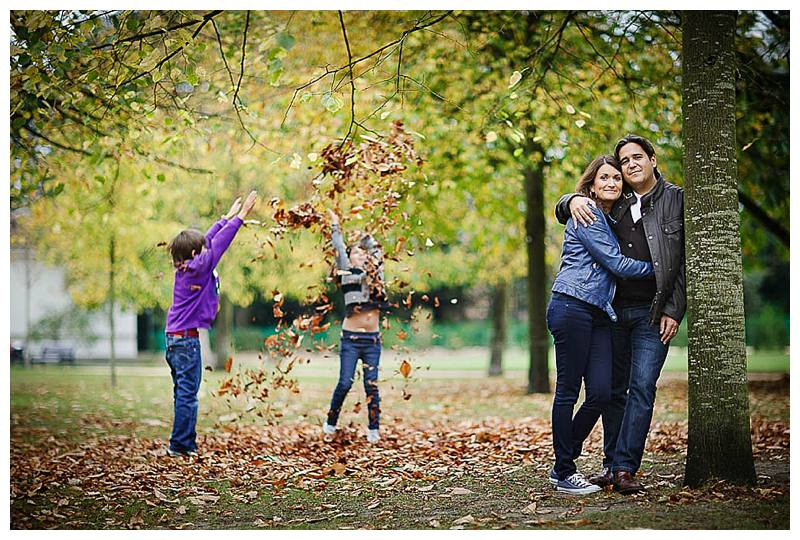 Family photography London half term children