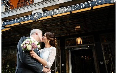 Beautiful Claridge's summer wedding