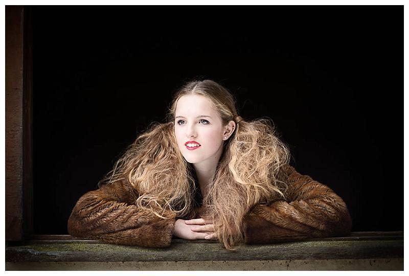 Teen Photo shoot Willa in bunches