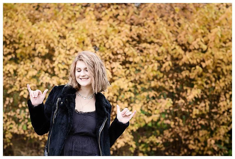 Teen photo shoot Sophie rock n roll