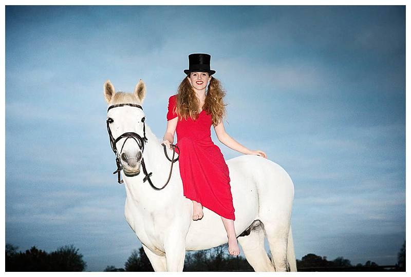 Teen photo shoot Willa in top hat
