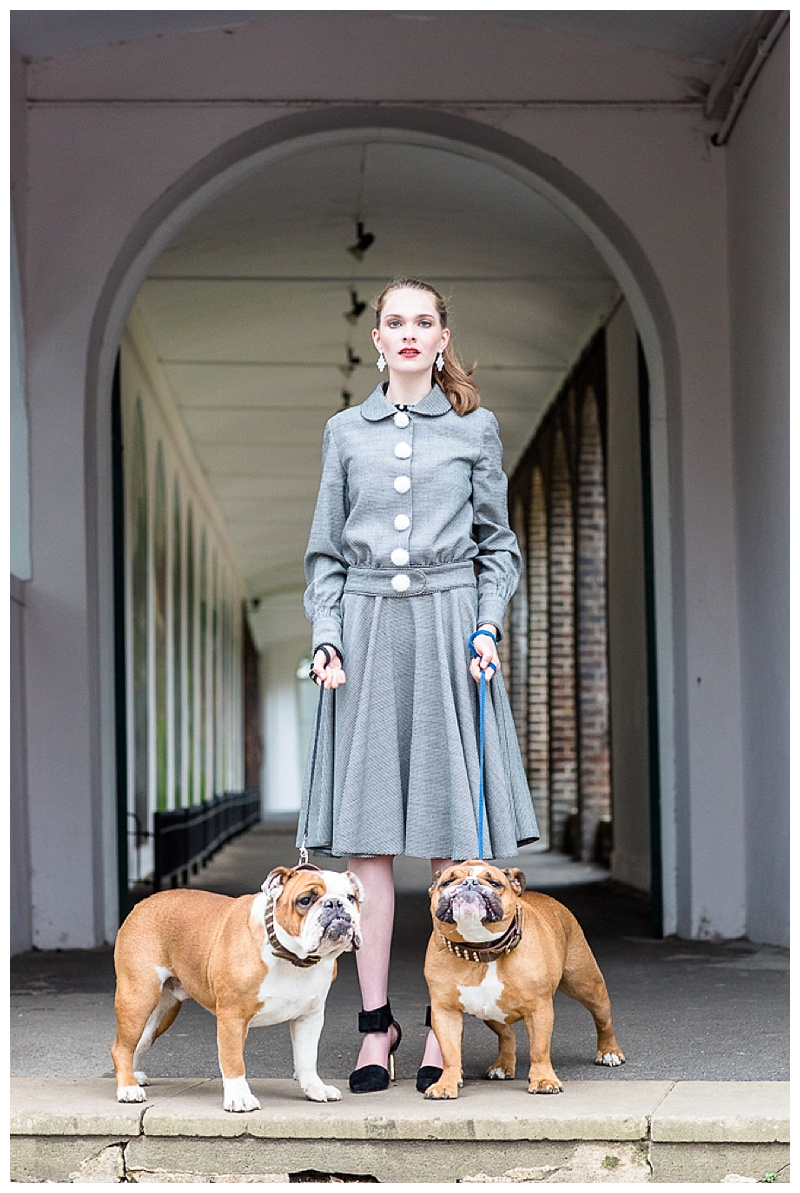Portrait Photography London With bulldogs