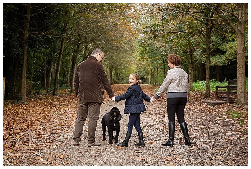 Family Photographer London Family in park