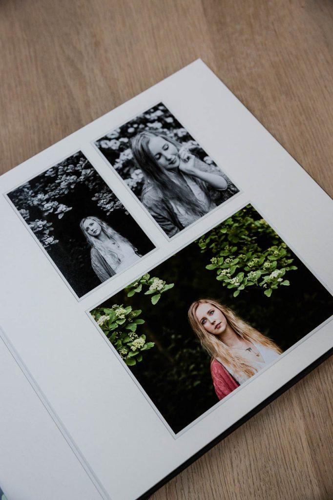 image of bespoke photo album